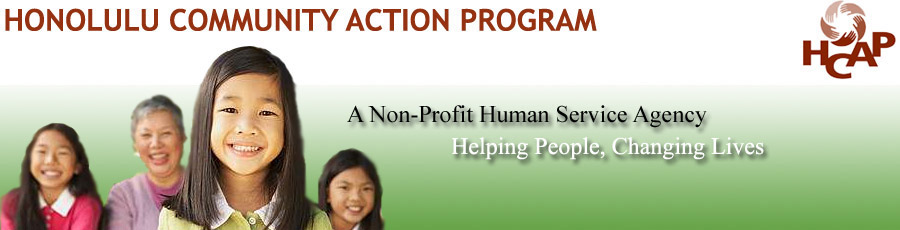 HONOLULU COMMUNITY ACTION PROGRAM KUMUHONUA TRANSITIONAL SHELTER PROGRAM